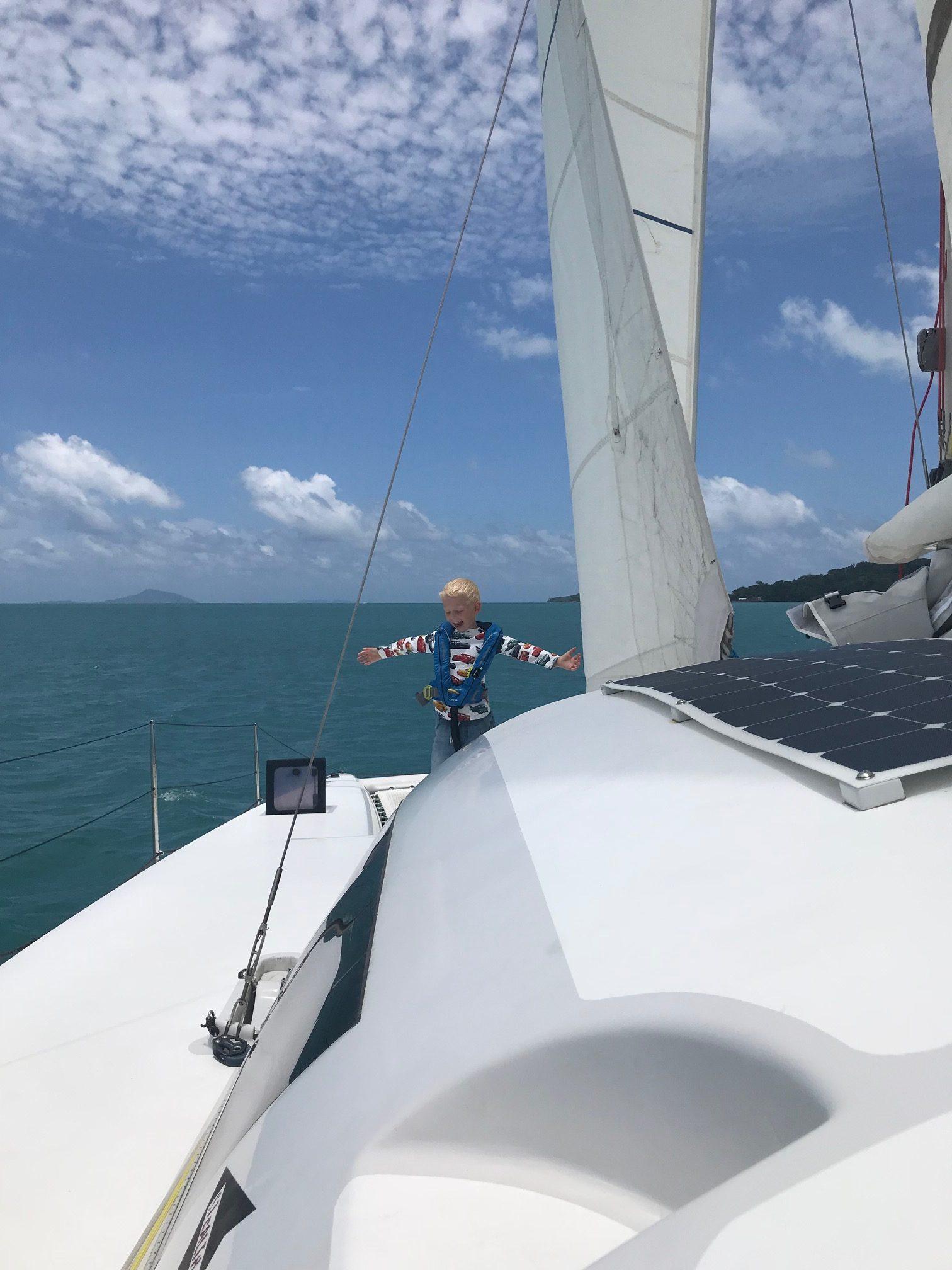 Ao Yon – Sjösättning och Jungfruresa